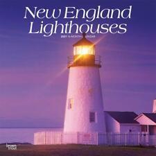 NEW ENGLAND LIGHTHOUSES - 2021 WALL CALENDAR - BRAND NEW - 26064
