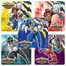 Power Rangers Dino Charge Stickers x 5 - Birthday Party Favours - Gifts/Awards