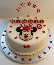 In The Style Of Minnie Mouse Cake Topper - (Unofficial)