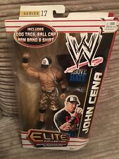 WWE ELITE BOXED - JOHN CENA with DOG TAGS, BALL CAP, ARM BAND & SHIRT