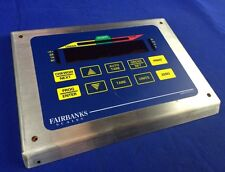 FAIRBANKS SCALES STAINLESS STEEL FACE PLATE W/ MEMBRANE KEYPAD/CONTROL
