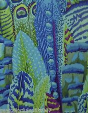 FEATHERS GREEN Philip Jacobs for Kaffe Fassett  $5 per 1/2 yard increment
