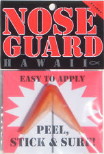 Surfboard NOSE GUARD, Nose Protector, Safety Bumper, Protect Board & Rider, Red