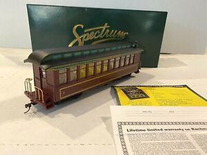 "BACHMANN SPECTRUM TRAINS-WONDERLAND COACH CAR-NARROW GAUGE ""ON30"" ITEM NO. 26325"