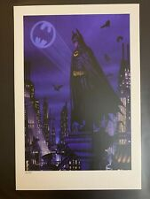 Batman 89 Rory Kurtz Print Poster Bottleneck Gallery BNG Not Mondo Dark Knight