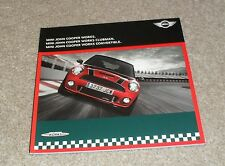 MINI JOHN COOPER WORKS BROCHURE 2010 JCW S-due volumi CLUBMAN CABRIO