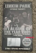 Linkin Park HYBRID THEORY 2CD+ ZIPPO LIGHTER Limited Edition NEW SEALED ORIGINAL