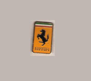 FERRARI Vintage Emblem LAPEL pin car badge GT F1 Dino 308 250 Daytona GP #13