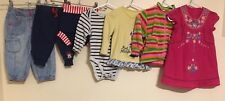 Baby Girls Bundle Of Clothing Age 6-9 Months Disney Name It M&S <D1118