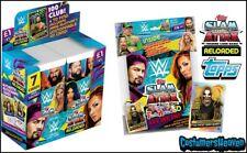 Slam Attax Reloaded 36 Packets Full Box + Starter Pack Album Sealed WWE BOOSTER