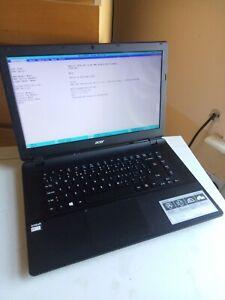 Acer Aspire ES1-522,  AMD E1-700 @ 1.50GHz, 4GB RAM, 320GB HDD