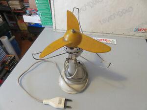 VENTILATORE Vintage WIGO modello TFK 200 MODERNARIATO funzionante come da foto