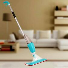 House Floor Cleaning Mop Microfiber Pad Water Spray Dust Cleaner Head Tool