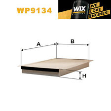 1x Wix Pollen Filter WP9134 - Eqv to Fram CF8714