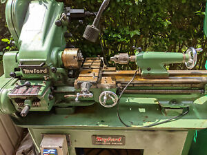 Myford Super 7 Lathe 240v Single Phase. With Myford cabinet and lots of extras