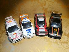 Lotto 4 Auto Rally Lancia Stratos Ford  Rscort RS e Focus BMW M1  1/43 Guisval e