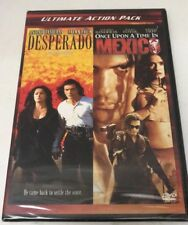 Desperado / Once Upon a Time in Mexico (2007, 2 - DVD Set) Sealed! Brand New