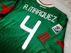 Jersey mexico Rafael Marquez 2010 adidas (L) Barcelona world cup green shirt