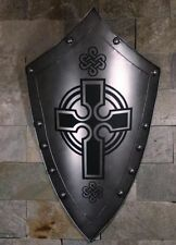 MEDIEVAL KNIGHT SHIELD All Metal 36'' Handcrafted.  SD1