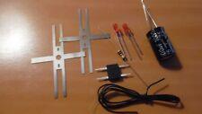 lot ho -  kit ECLAIRAGE FIN DE CONVOI led 3mm   - train électrique