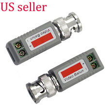 1 Pairs Passive Video Balun BNC to Cat5 Cat6 UTP cable for CCTV Security Camera