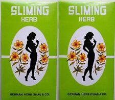 Sliming Herb Tea Weight Loss Diet Detox Tea 100 Tea Bags 10 Packages each 10 Bag