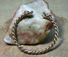 viking Bracelet tordu BRONZE POISSON Scorpion 30g viking Bracelet dragon