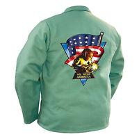 Tillman 9030 We Weld America FR Cotton Welding Jacket - 3XL (TIL9030XXXL)