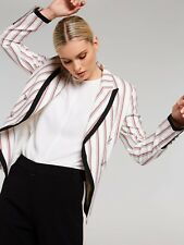 PORTMANS SIENNA STRIPED BLAZER