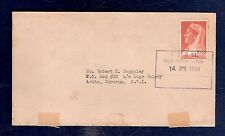 Curacao Ship Cover KNSM 1940 SS Colombia (defects)