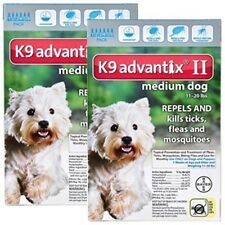 K9 Advantix II for Medium Dogs (11-20 pounds) 12 months supply  (not in box)