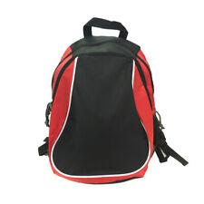 Women Men Canvas School Backpack Casual Hiking Travel Camping Book Bag Black US