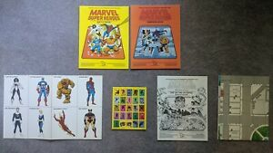 Marvel Super Heroes Battle Campaign Book RPG TSR Day of the Octopus Unpunched