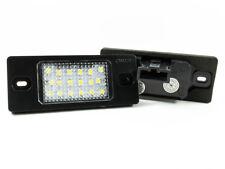 VW TIGUAN PORSCHE CAYENNE REAR NUMBER LICENSE PLATE LIGHT LAMP 2x 18 2W LED