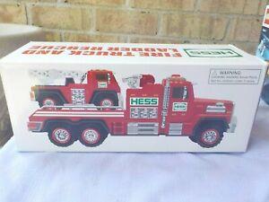 2015 red hess fire truck mib