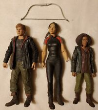 LOT OF 3 THE HUNGER GAMES ACTION FIGURES: PEETA, KATNISS, RUE - 2011 NECA AS IS