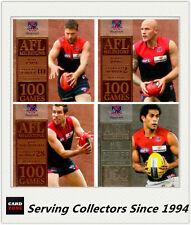 AFL Trading Card MILESTONES SUBSET MASTER TEAM SET-MELBOURNE-2012 AFL Champions