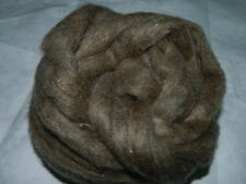 Tussah Silk Fiber - Sliver Form - 100% Silk - 100 Grams - 1 Pack - Grab it