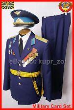 Original officer Parade uniform Soviet PILOT USSR Russian Aircraft dagger belt