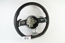 VOLKSWAGEN GTI SCIROCCO GOLF 7 FLAT BOTTOM STEERING WHEEL #8