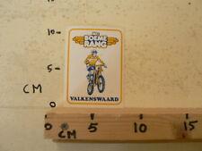 STICKER,DECAL MC BOEMERANG MOTOCROSS NO 6 VALKENSWAARD MX CROSS A