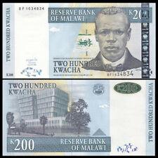 Malawi 200 Kwacha, 2004, P-55, Banknote, UNC