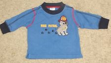 EUC Gymboree Firehouse Hounds Fire Patrol Shirt Size 3-6 3 6 Months