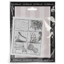 Christmas Pieces Silicone Mounted Rubber Stamp LaBlanche