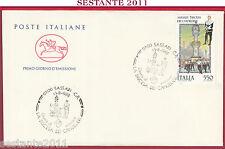ITALIA FDC IL CAVALLINO SASSARI DISCESA DEI CANDELIERI 1988  Z268