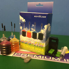 INK Cartridge REFILL KIT HP 302 Deskjet 2130 2132 2134 3630 3632 3634 3636 3637