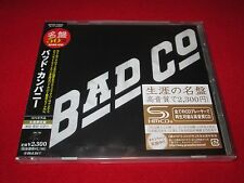 BAD COMPANY - SELF TITLED - JAPAN SHM - JEWEL CASE - OUT OF PRINT - WPCR-13262