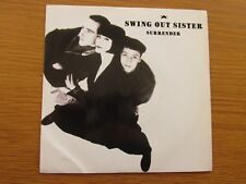 "SWING OUT SISTER Surrender 1987 UK 7"" VINYL SINGLE 1980s POP CLASSIC"