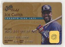 1995 Donruss Studio Baseball - GOLD - #14 - Joe Carter - Toronto Blue Jays