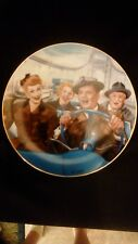 I Love Lucy Hamilton Collection plate, ' California Here We Come' 8 1/2""